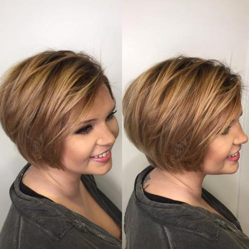 Hairstyles for Full Round Faces – 40 Best Ideas for Plus-Size Women